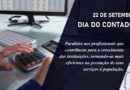 22 de setembro Dia do Contador